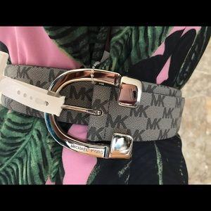 Michael Kors Signature Logo Belt